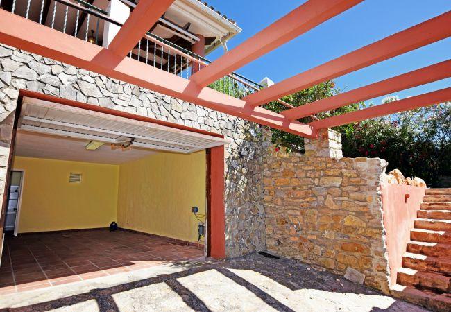 La Higuera - Garaje y acceso al Chalet