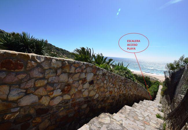 Essencia - Acceso a la playa