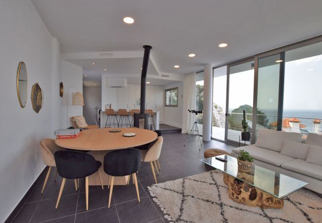 Entre Rocas - sala de estar-comedor 1ª planta (7)